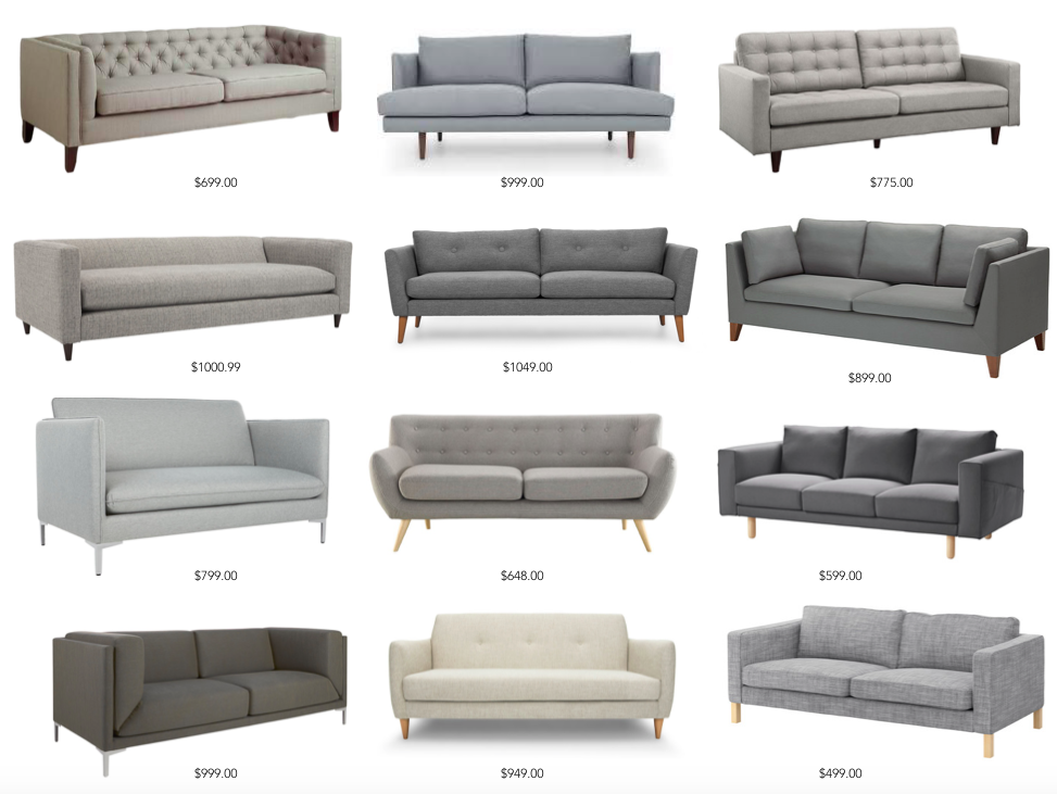 Affordable Sofas And Under