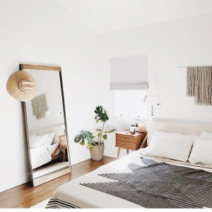 Majorly crushing on almostmakesperfect bedroom! Yesterday we signed a leasehellip
