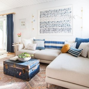 I love all the indigo used in emhenderson home ithellip