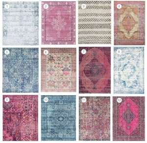 Sharing 12 of my favorite affordable rugs on the bloghellip